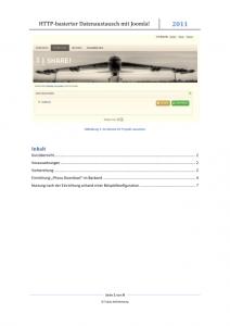 Vorschau [TUT] Joomla! - HTTP-Datenaustausch